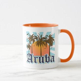 Aruba Beaches Sunset Mug