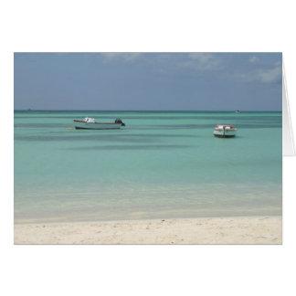 Aruba Boats Card