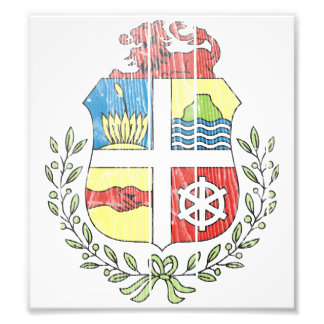 Aruba Coat Of Arms Photo Print