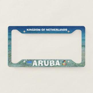 Aruba Custom License Plate Frame