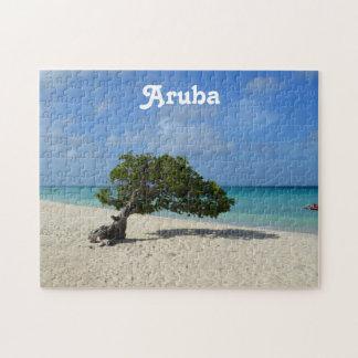 Aruba Divi Divi Tree Jigsaw Puzzles