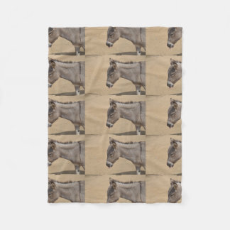 Aruba Donkey Fleece Blanket