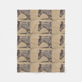 Aruba Donkey Fleece Blanket