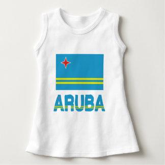 Aruba Flag and Word Dress