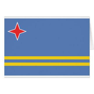 Aruba Flag AW Card