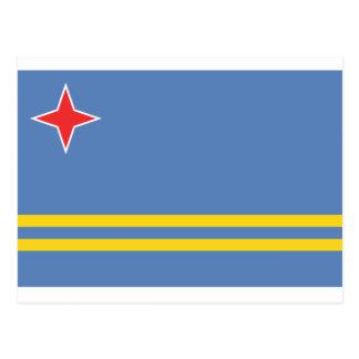 Aruba Flag AW Postcard