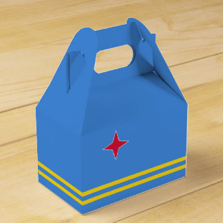 Aruba Flag Favour Box
