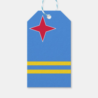 Aruba Flag Gift Tags