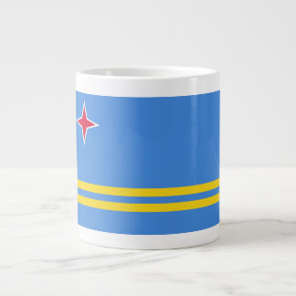 Aruba Flag Large Coffee Mug
