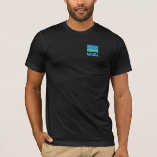 Aruba Flag & Word T-Shirt