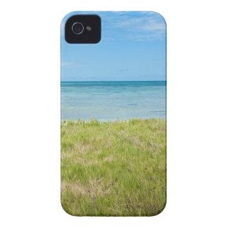 Aruba, grassy beach and sea Case-Mate iPhone 4 case