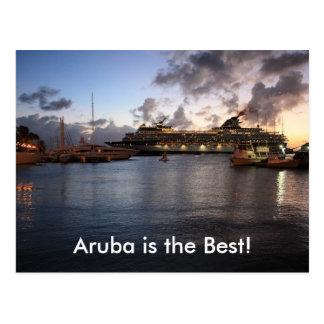 Aruba is the Best! Postcard
