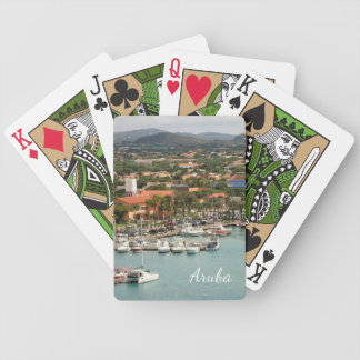 Aruba Marina Bicycle Playing Cards