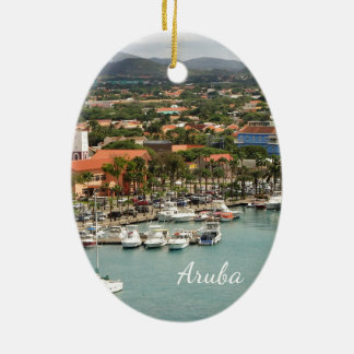 Aruba Marina Christmas Ornament