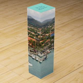 Aruba Marina Custom Wine Bottle Boxes