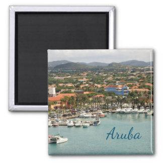Aruba Marina Magnet