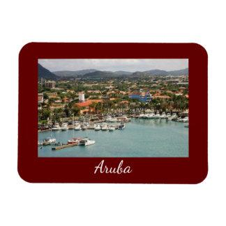 Aruba Marina Small Magnet