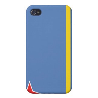 Aruba National Nation Flag  iPhone 4/4S Covers