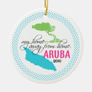 Aruba Ornament - my home away from home