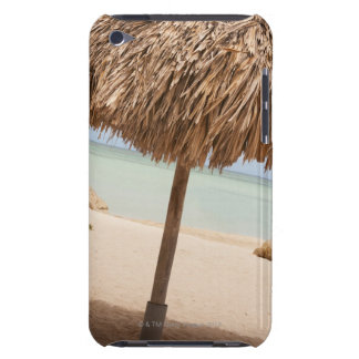 Aruba, palapa on beach iPod touch case