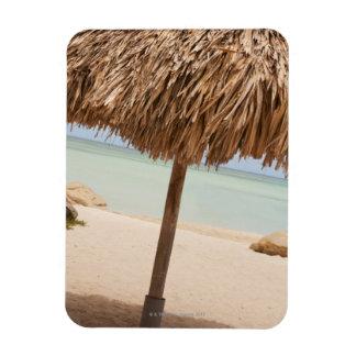 Aruba, palapa on beach magnet