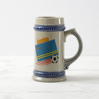 Aruba Soccer Team Beer Steins
