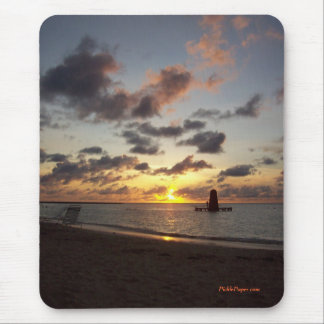 Aruba Sunset 2006 Mouse Pad