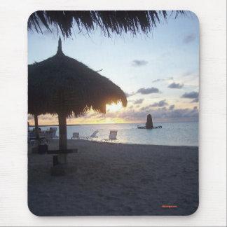 Aruba Sunset 2006 Mouse Pads