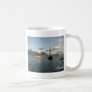 Aruba Sunset - Boat Coffee Mug