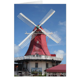 Aruba windmill card