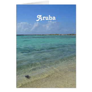 Aruban Beach Card