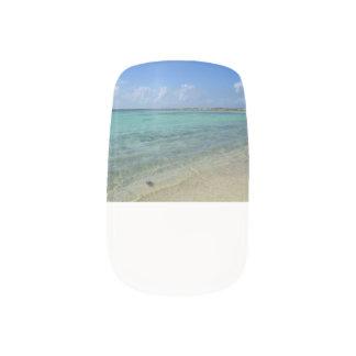 Aruban Beach Fingernail Transfer