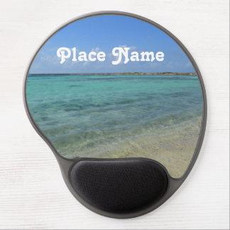Aruban Beach Gel Mouse Pad