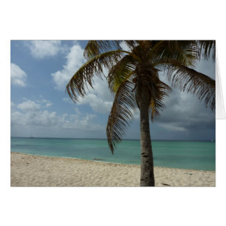 Aruban Beach I Beautiful Nature Scene Greeting Card