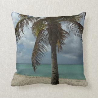 Aruban Beach I Beautiful Nature Scene Throw Pillows