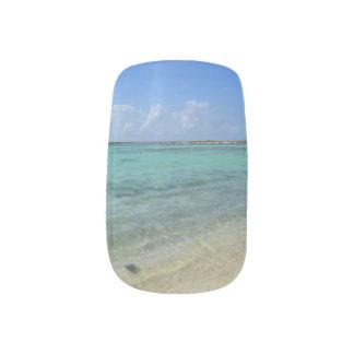 Aruban Beach Nails Stickers