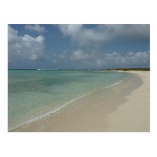 Aruban Beach Postcard