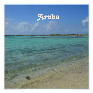 Aruban Beach Poster