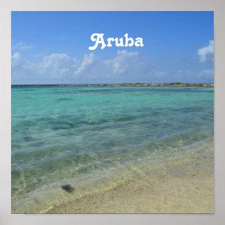 Aruban Beach Poster