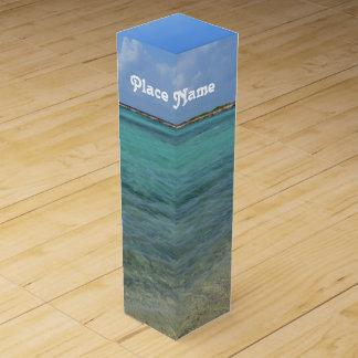 Aruban Beach Wine Bottle Boxes