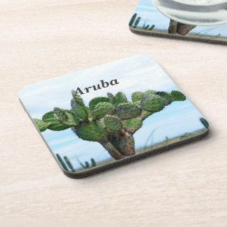 Aruban Cactus Coasters