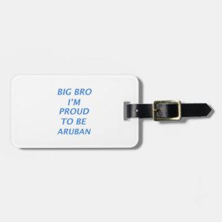 Aruban design luggage tags