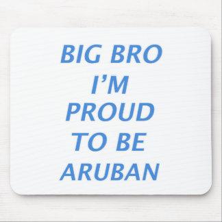 Aruban design mouse pad