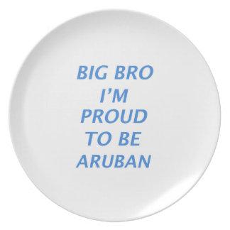 Aruban design plates