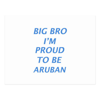 Aruban design postcard
