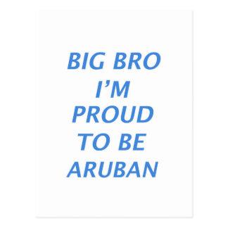 Aruban design postcard