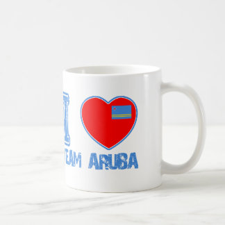 Aruban designs basic white mug