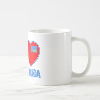 Aruban designs basic white mug