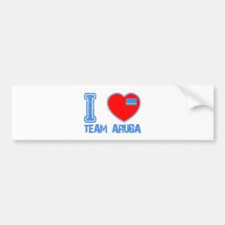 Aruban designs bumper sticker