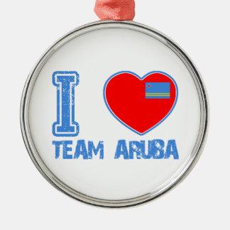 Aruban designs ornaments